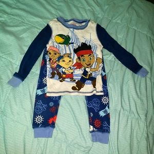 Disney Store Jake And The Neverland Pirates 2 pc